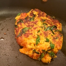 Sweet Potato Kale Fritter