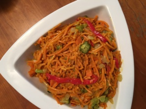 Curried Sweet Potato Noodles