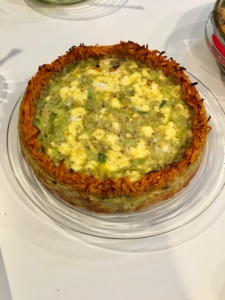 Sweet Potato Crusted Quiche whole